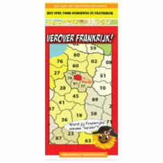Verover Frankrijk - autobingo voor Frankrijk vakanties