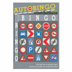 autobingo - verkeersbord versie